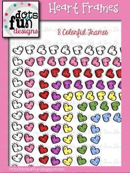 Heart Frames ~Dots of Fun Designs~
