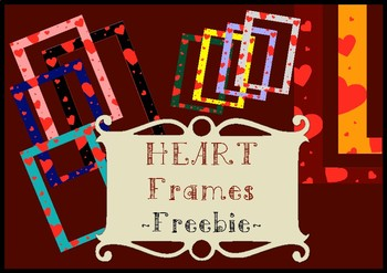 Free Heart Frames (Commercial use)