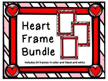 Heart Frames Clipart