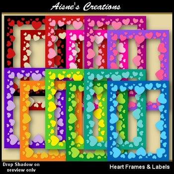 Heart Frames & Labels
