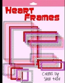 Heart Frames and Borders - Clip Art - Valentine's Day February Commercial OK
