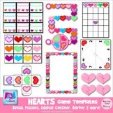 Heart Game Templates - Commercial & Personal Use