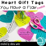 Heart Gift Tags: You have a flair...