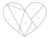 Heart Glyph - Party Busywork