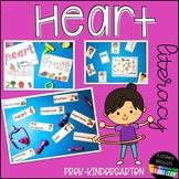 Heart Health Thematic Literacy Activities for Pre-K, Presc
