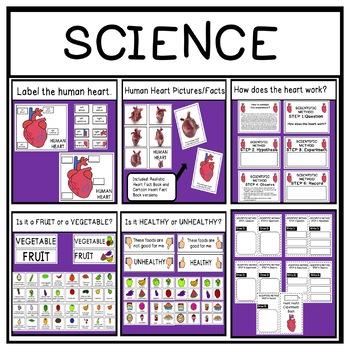 Heart Health Thematic Unit for Pre-K, Preschool, and Kindergarten