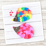 Heart Hedgehog Craft (Valentine's Day)