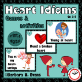 IDIOMS UNIT: Idioms, Idiom Activities, Figurative Language