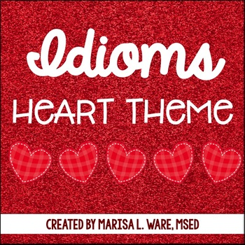 Idioms Relating to the Heart Matching Activity
