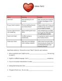 Heart Idioms Part 2 (Teacher Version)