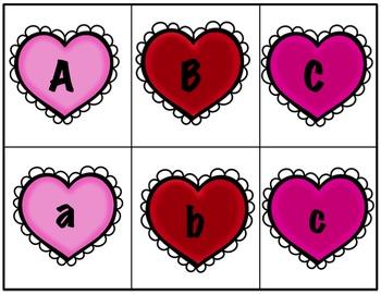 Heart Letter Cards