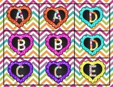 Heart Letter Matching Game
