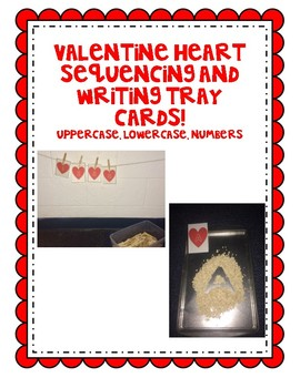 Heart Letter and Number Sequencing