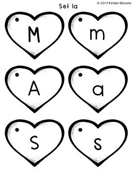 Heart Letters - Phonics Practice & Flashcards {Reading Wonders}