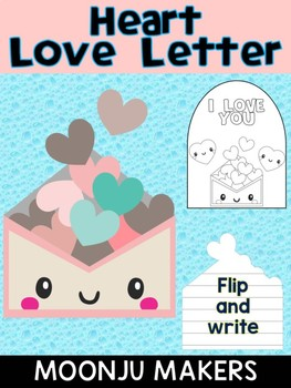 Heart Love Letter - Moonju Makers, Activity, Writing, Craft, Valentine's Day