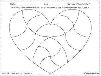 Heart Map FREEBIE!