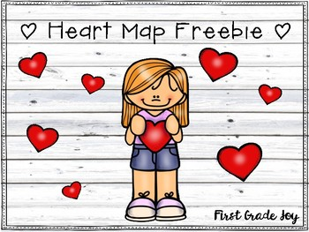 Heart Map Freebie