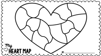 Heart Map | Introduction to Writing