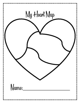 Heart Map PLUS Writing Topics extension