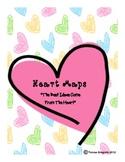 Heart Map Writing {Freebie}