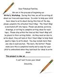 Heart Map - Writing Workshop Tool