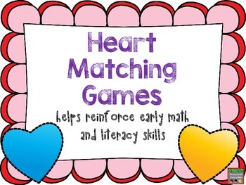 Heart Matching Games