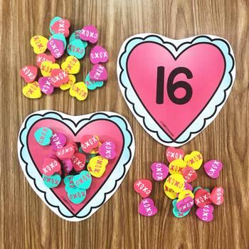 Heart Mini Eraser Activities
