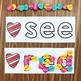 Heart Mini Eraser Letters and Words
