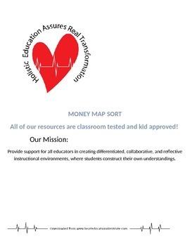 Heart Money Map Sort