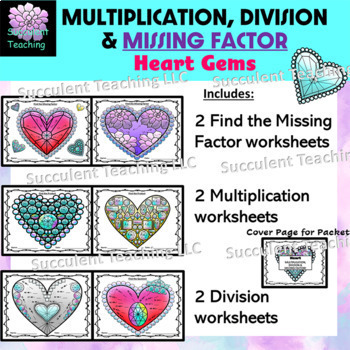 Heart Multiplication, Division, and Unknown Factors