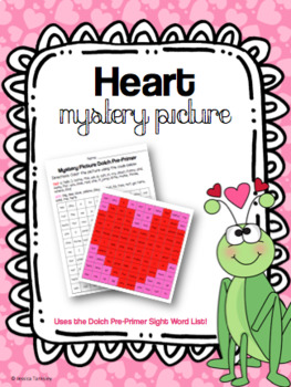 Heart Mystery Picture 1-100 (Valentine's Day)