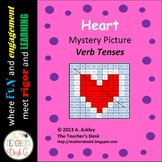 Heart Mystery Picture Verb Tenses