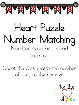 Heart Number Puzzle Matching