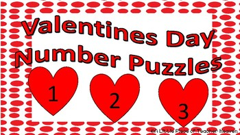 Heart Number Puzzles 1-20