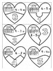 Heart Number Puzzles First Grade