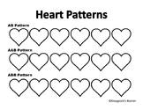 Heart Pattern Coloring