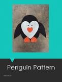 Heart Penguin Pattern