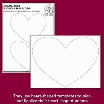 Valentine's Day Poetry (Heart Shape Poetry)