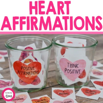 Heart Positive Affirmation Cards