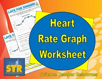 heart rate graph worksheet by science teacher resources tpt. Black Bedroom Furniture Sets. Home Design Ideas