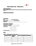 Heart Rate Scientific Method Lab WS