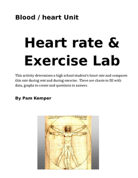 Heart Rate and Exercise Lab