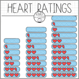 Heart Ratings by Bunny On A Cloud