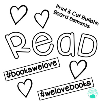 {Heart} Read - Reading Status Update & Review Forms & Interactive Bulletin Board