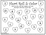 Heart Roll & Color