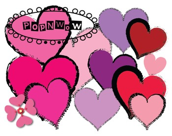 Heart Set Clipart