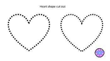Heart Shape cut out *freebie*