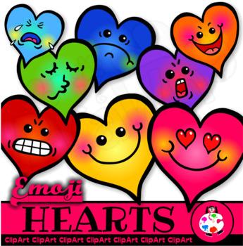 Heart Shaped Emoticons