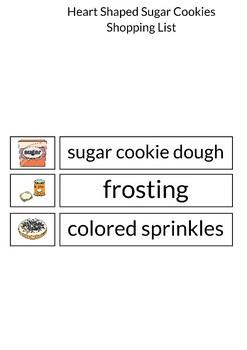 Heart Shaped Sugar Cookie Recipe Smarty Symbols