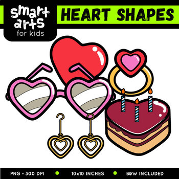 Heart Shapes Clipart